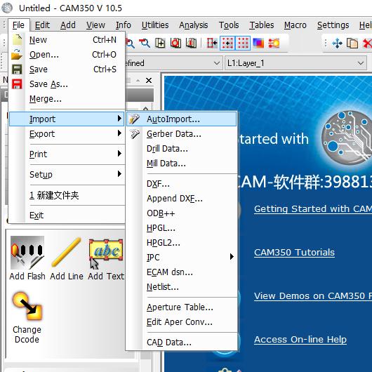cam350导资料