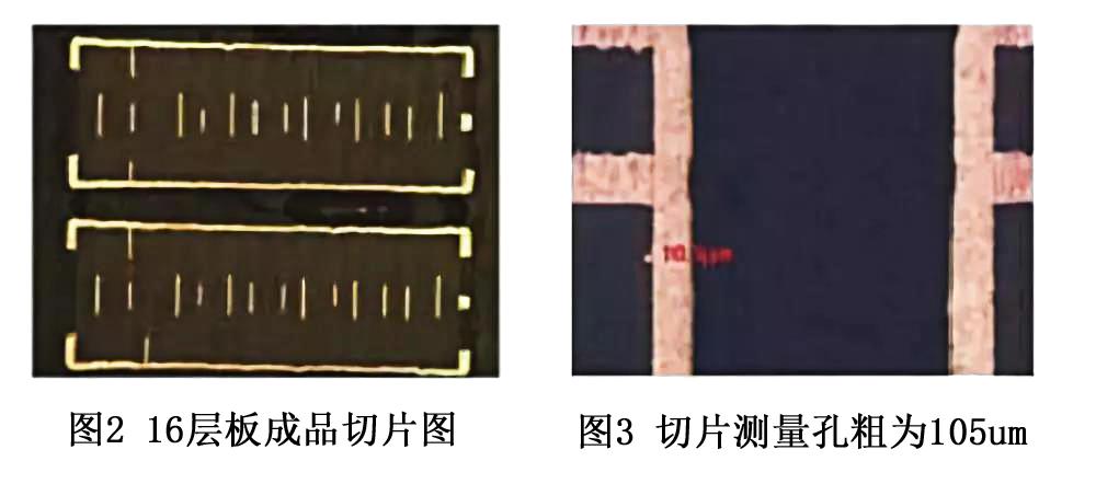 多层线路板切片图